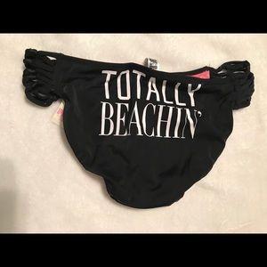 Victoria's Secret pink beachin bikini bottom